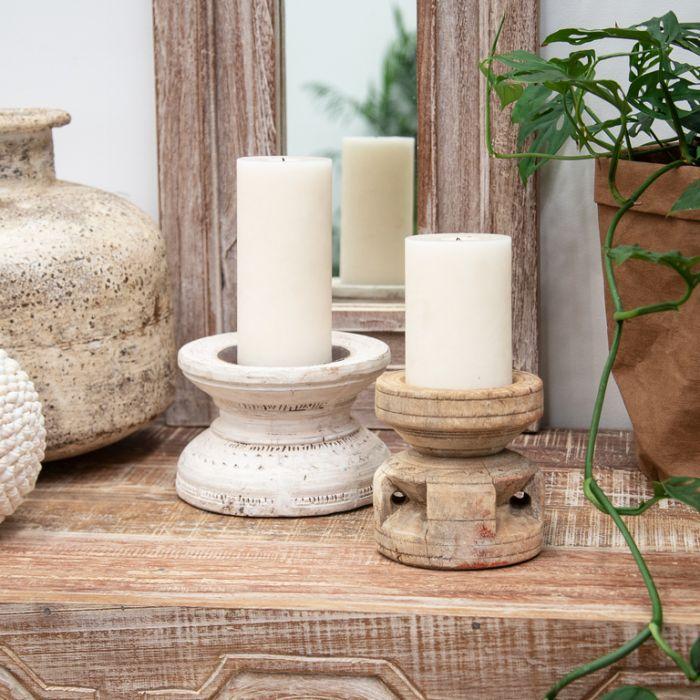 FP Collection Indu Vintage Round Candleholder  ] 183103 - Flower Power