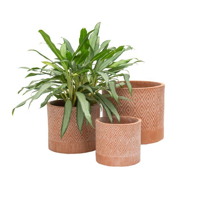 FP Collection La Condesa Planter Rust  ] 183423P - Flower Power