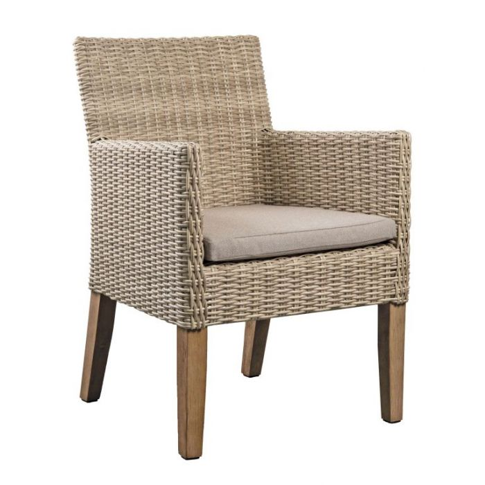 FP Collection Dune Outdoor Dining Chair Stone  ] 184750 - Flower Power