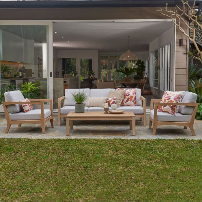 FP Collection Alpine Outdoor Lounge Setting  ] 184754 - Flower Power