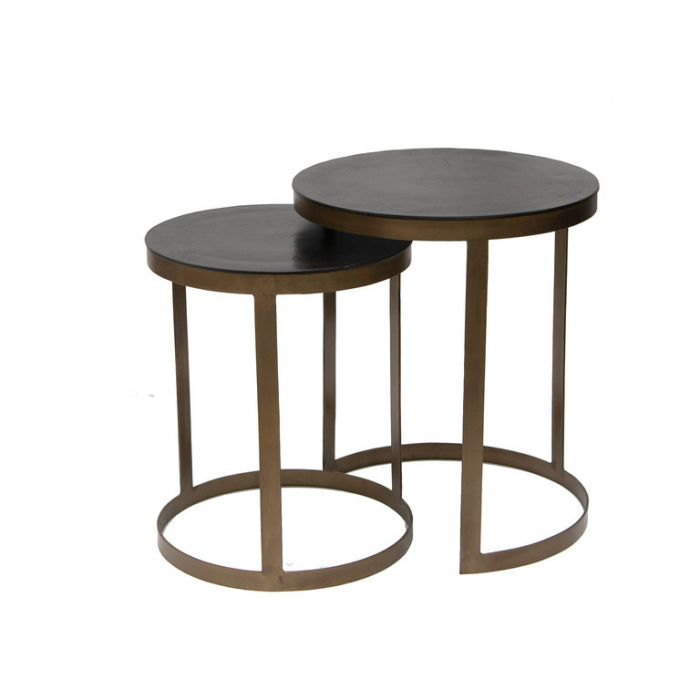 FP Collection Adina Side Table Bronze  ] 184882P - Flower Power