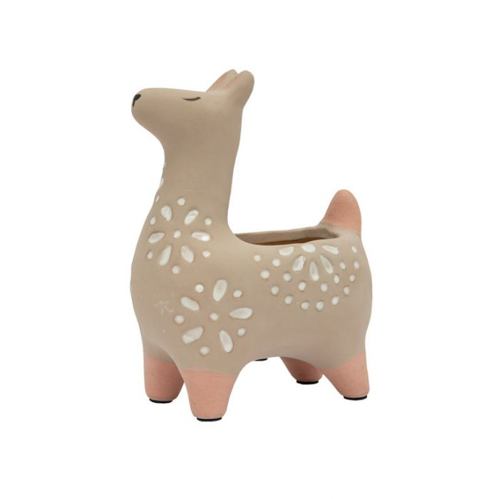 FP Collection Little Miss Llama Lily Planter  ] 185484 - Flower Power
