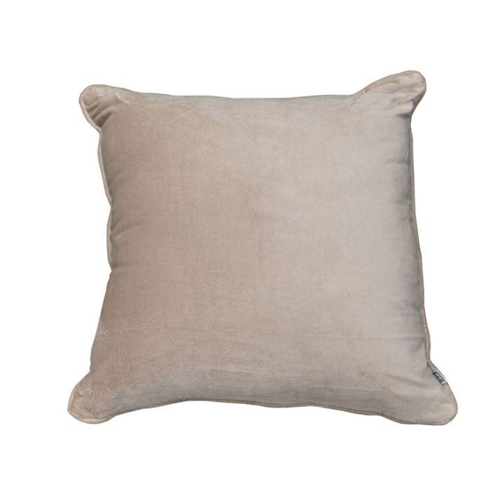 FP Collection Cushion Velvet Taupe  ] 185755 - Flower Power