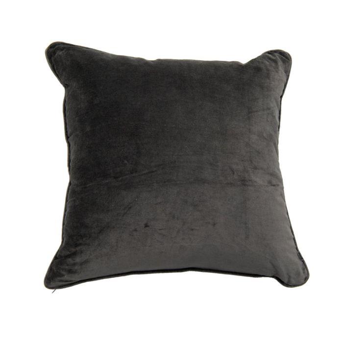 FP Collection Cushion Velvet Steel  ] 185756 - Flower Power