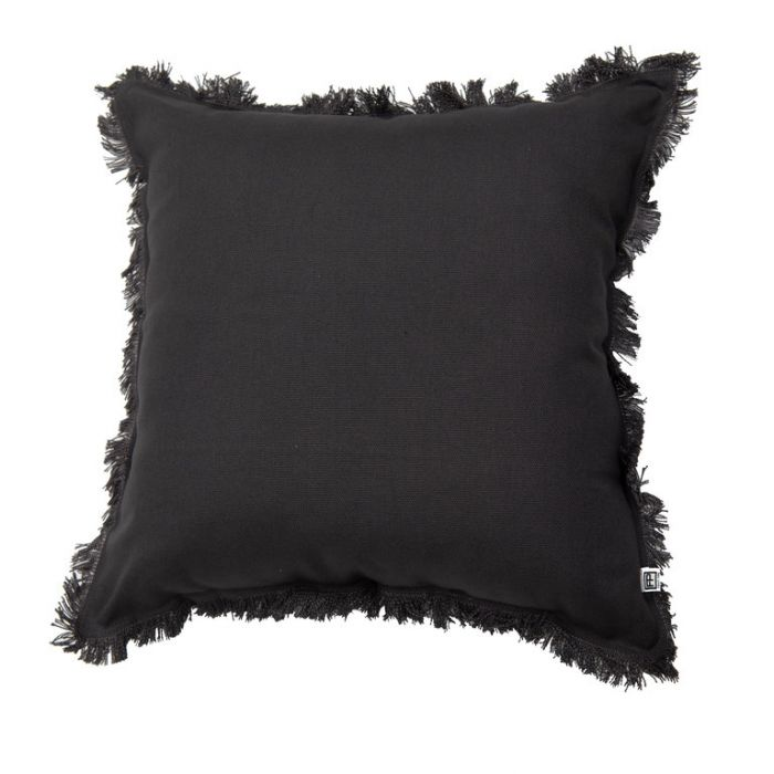 FP Collection Cushion Avoca Charcoal  ] 185762 - Flower Power