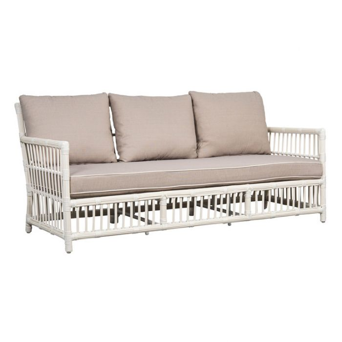 FP Collection Hamptons Outdoor 3 Seater Lounge  ] 185872 - Flower Power