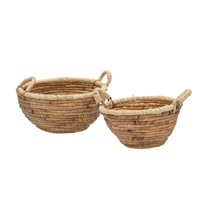 FP Collection Luanda Bowl Basket Natural  ] 186197P - Flower Power