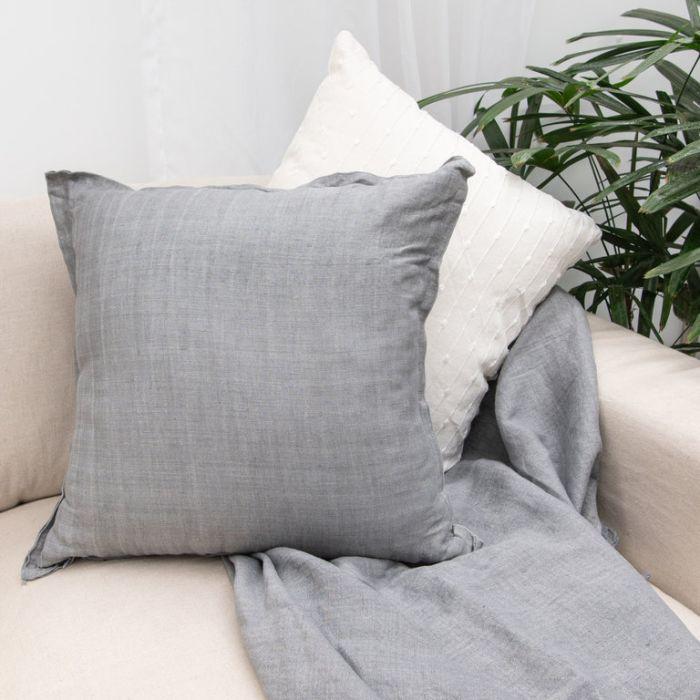 FP Collection Kiara Cushion Grey  ] 186819 - Flower Power