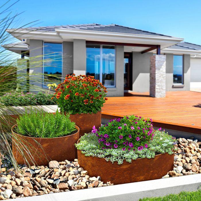 FormBoss Redcor® Preformed Garden / Tree Rings  ] 187813P - Flower Power