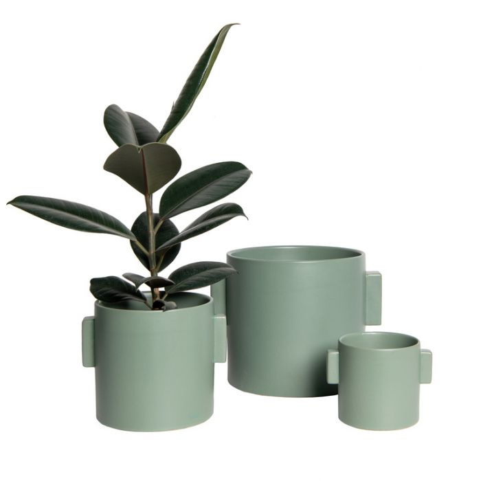 FP Collection Cabo Planter Sage  ] 188093P - Flower Power