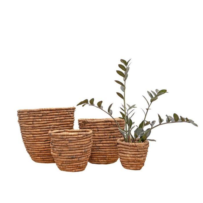 FP Collection Jarrah Storage Basket Oak  ] 189127P - Flower Power