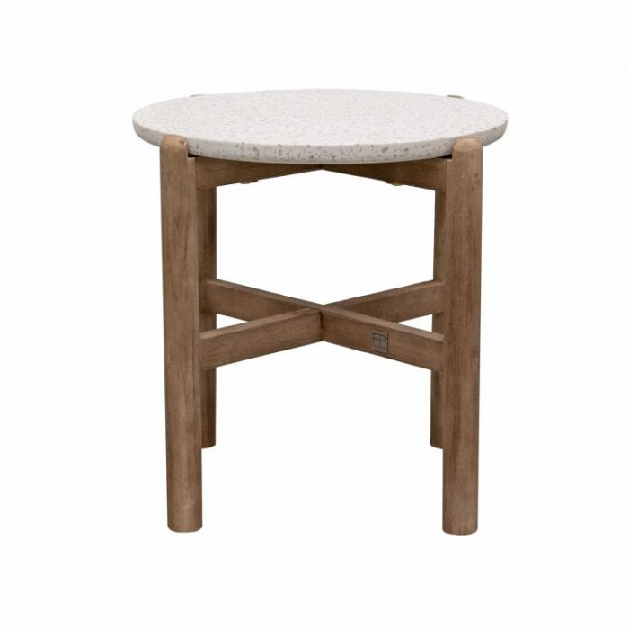 FP Collection Amalfi Side Table Coffee  ] 189245 - Flower Power