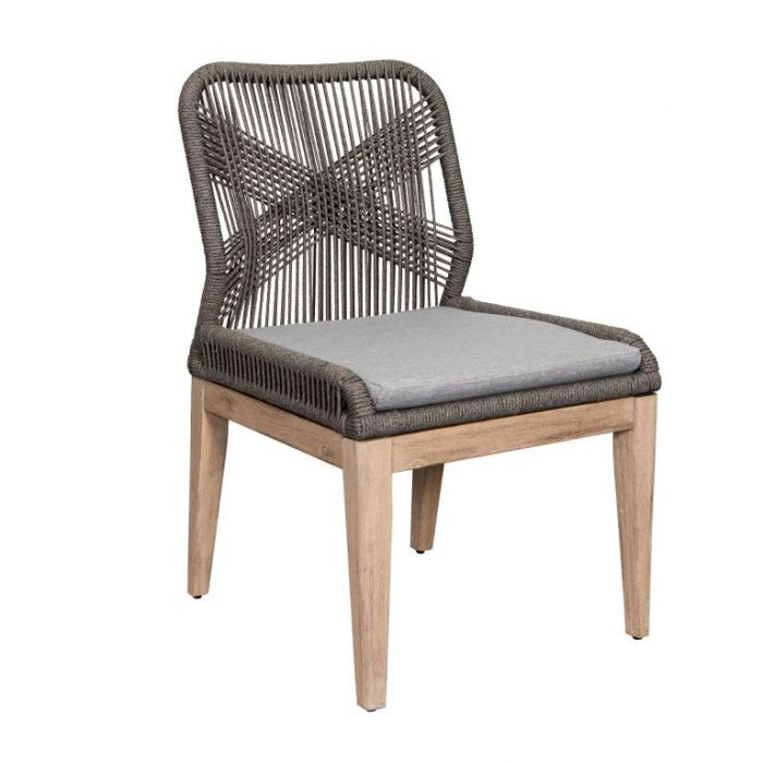 FP Collection Fraser Dining Chair Grey  ] 189249 - Flower Power