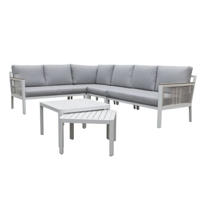 FP Collection Colada Outdoor 6 Piece Modular Lounge Setting  ] 190062 - Flower Power