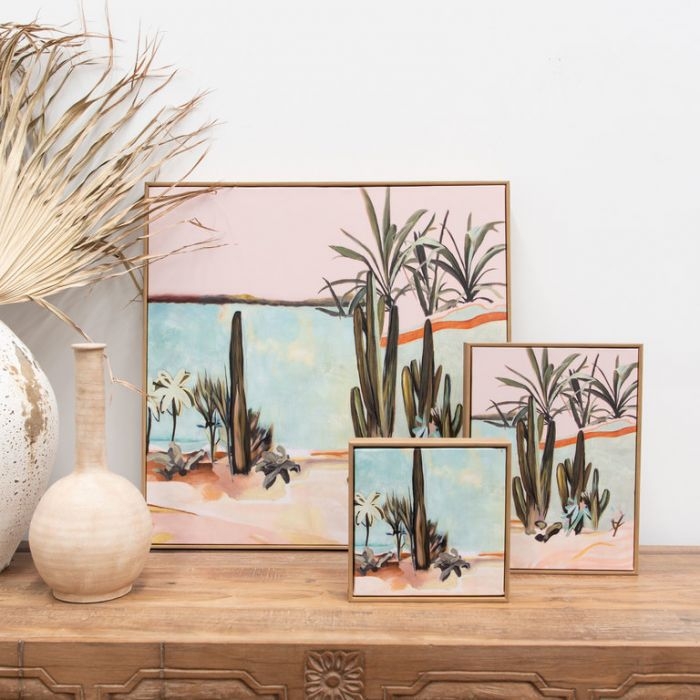 FP Collection Canvas Palm springs  ] 190833P - Flower Power