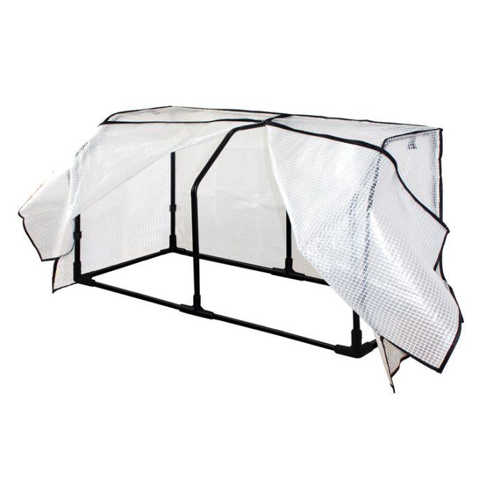 VegTrug Wall Hugger Frame and PE Greenhouse Cover  ] 4975149858484P - Flower Power