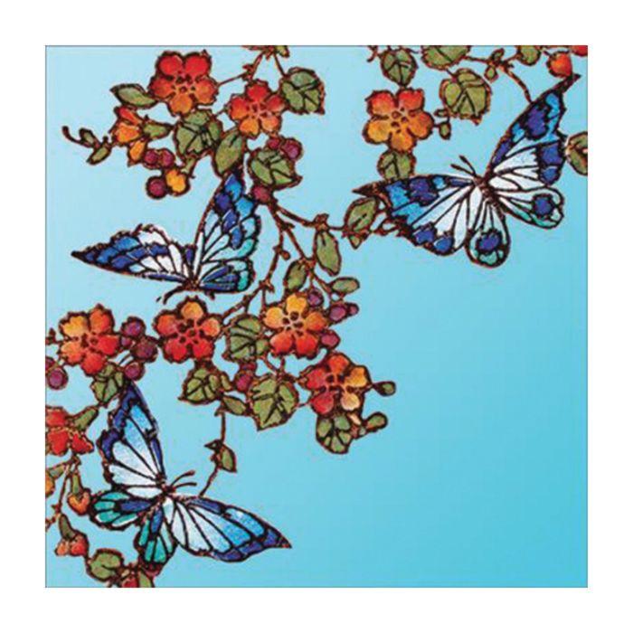 Almanac Gallery Butterflies And Flowers Card  ] 5015433358432 - Flower Power