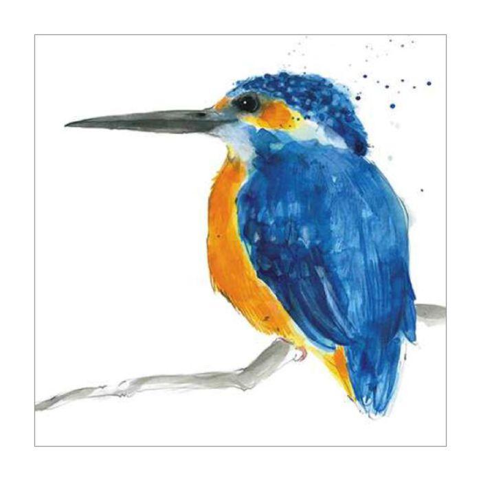 Almanac Gallery Kingfisher Card  ] 5015433687013 - Flower Power