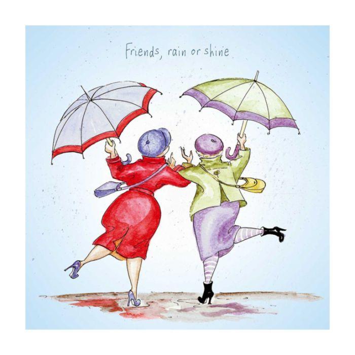 Almanac Gallery Rain Or Shine Card  ] 5015807398903 - Flower Power