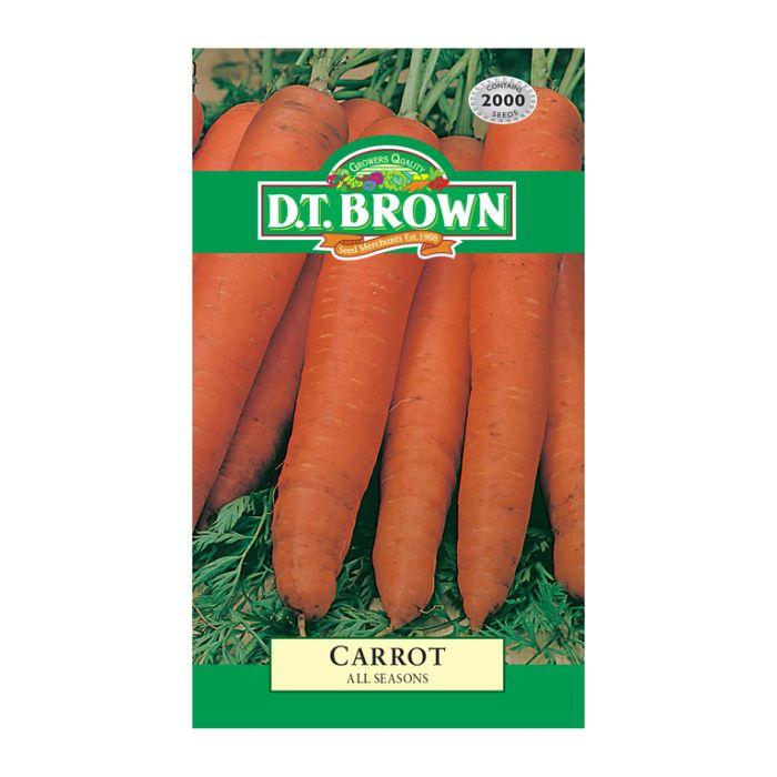 D.T. Brown Carrot All Seasons  ] 5030075022527 - Flower Power