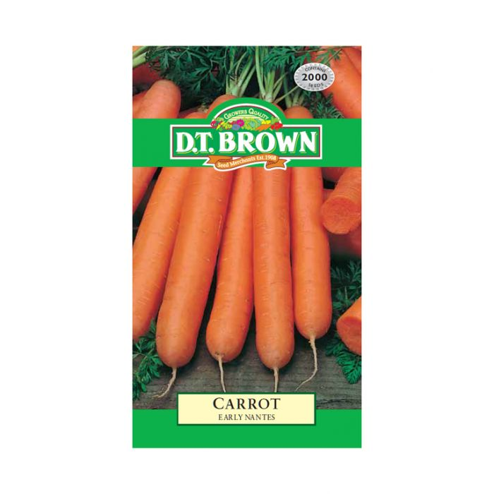 D.T. Brown Carrot Early Nantes  ] 5030075022695 - Flower Power