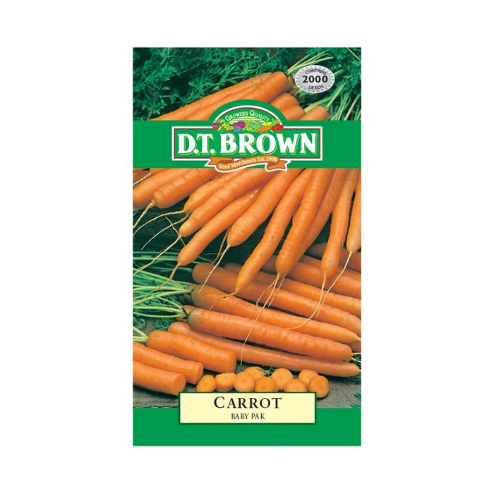 D.T. Brown Carrot Baby Pak  ] 5030075026594 - Flower Power