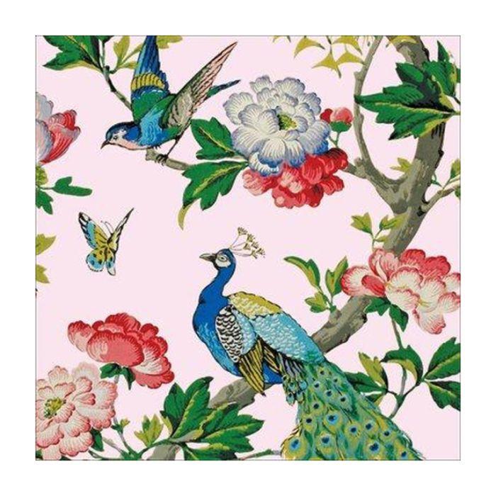 Almanac Gallery Oriental Peacocks Card  ] 5038780795880 - Flower Power