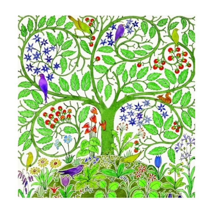 Almanac Gallery Eden Card  ] 5038780966389 - Flower Power
