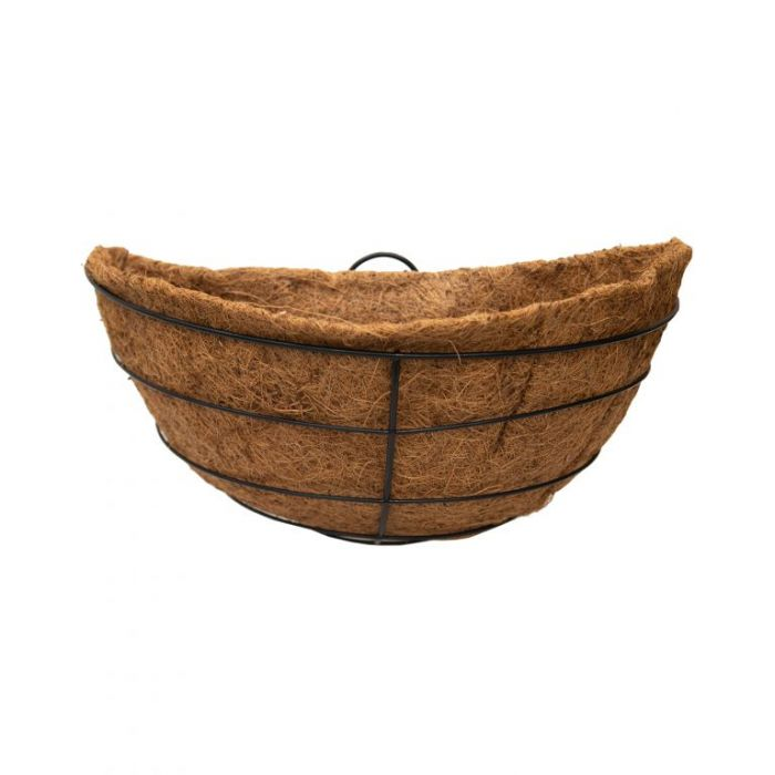 FP Collections Round Black Wire Wall Basket  ] 717240P - Flower Power