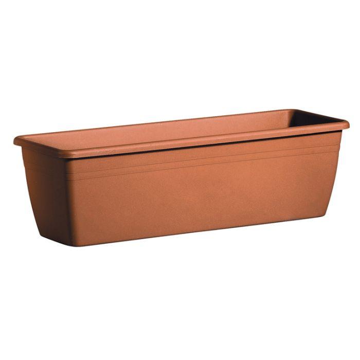Deroma Miramare Balcony Box Terracotta  ] 726232037200P - Flower Power