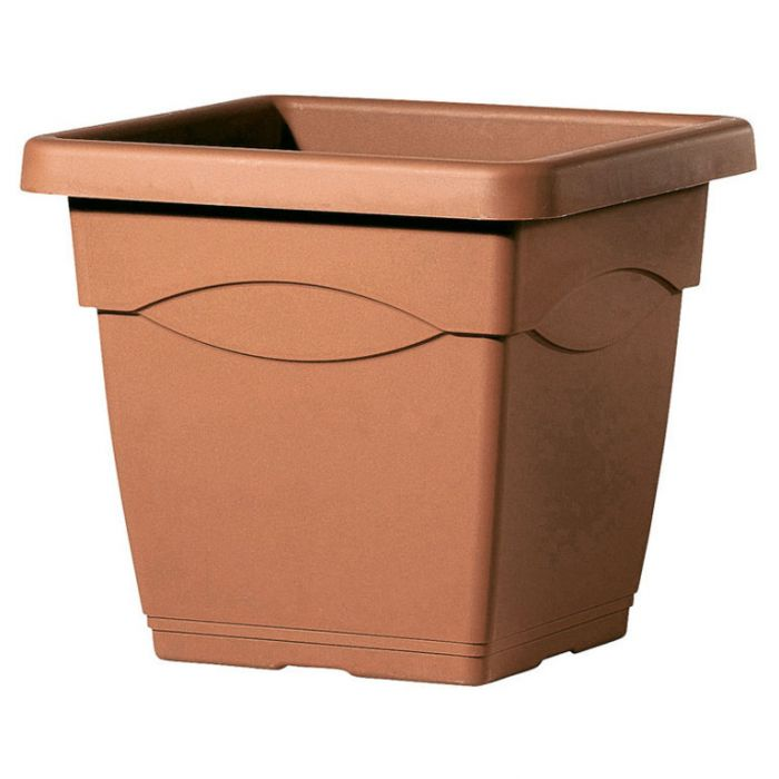 Deroma Circeo Square Pot Terracotta  ] 726232068334P - Flower Power