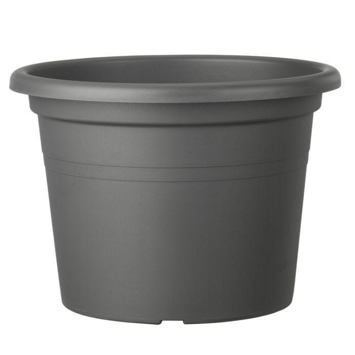 Deroma Farnese Round Pot Grey  ] 726232838043P - Flower Power