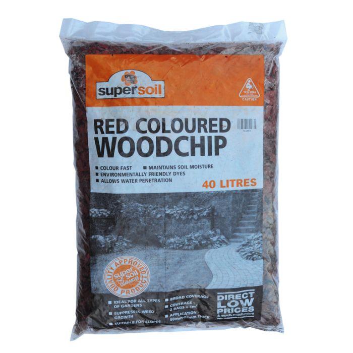 Red Woodchip Bag  ] 746230 - Flower Power