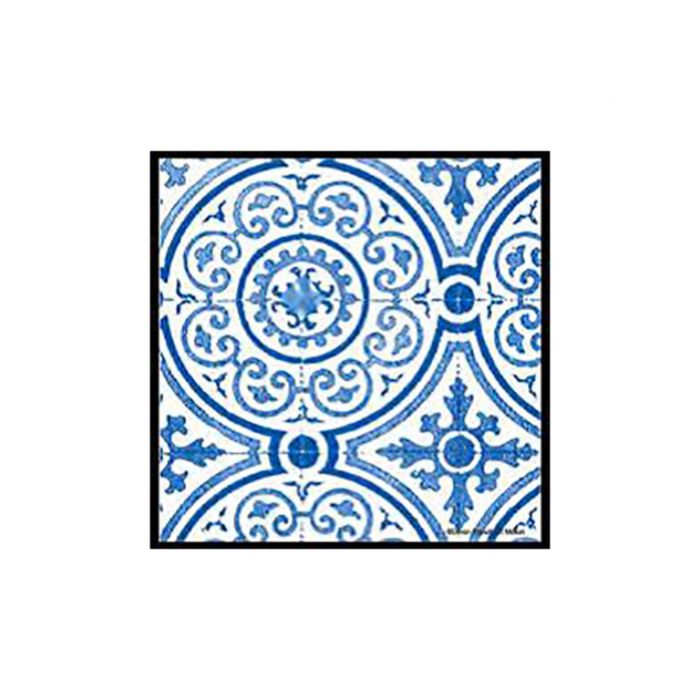 Thirstystone Coaster Collections Blue Opulence  ] 795785209754 - Flower Power