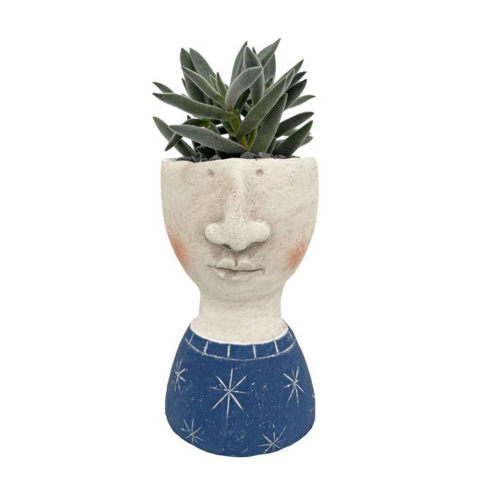 Living Trends Concrete George Planter  ] 9041299999 - Flower Power