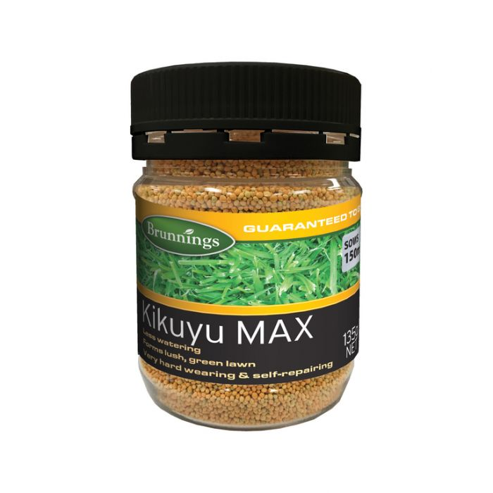 Brunnings Kikuyu Max Lawn Seed  ] 9310522001319 - Flower Power