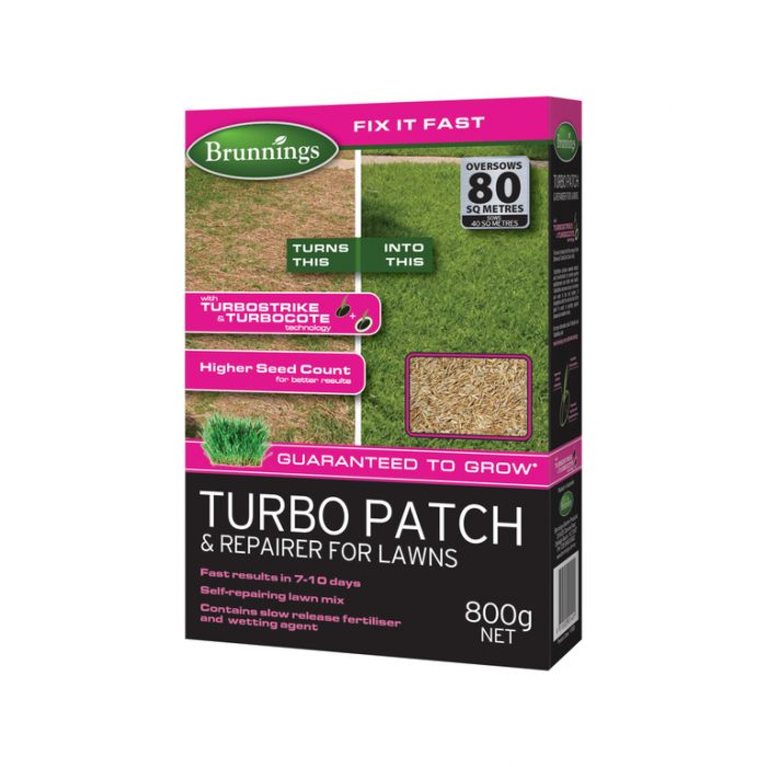 Brunnings Turbo Patch & Repairer For Lawns  ] 9310522001401 - Flower Power