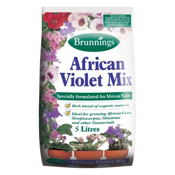 Brunnings African Violet Potting Mix  ] 9310522050010 - Flower Power
