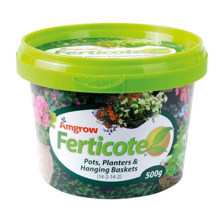 Amgrow Ferticote Pots, Planters & Hanging Baskets  ] 9310943553367P - Flower Power