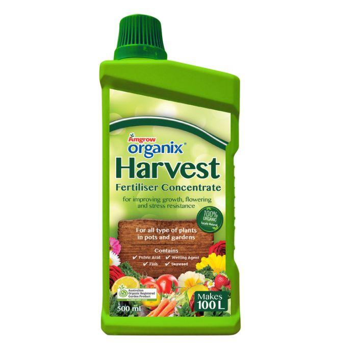 Amgrow Organix Harvest Fertiliser Concentrate  ] 9310943600153P - Flower Power