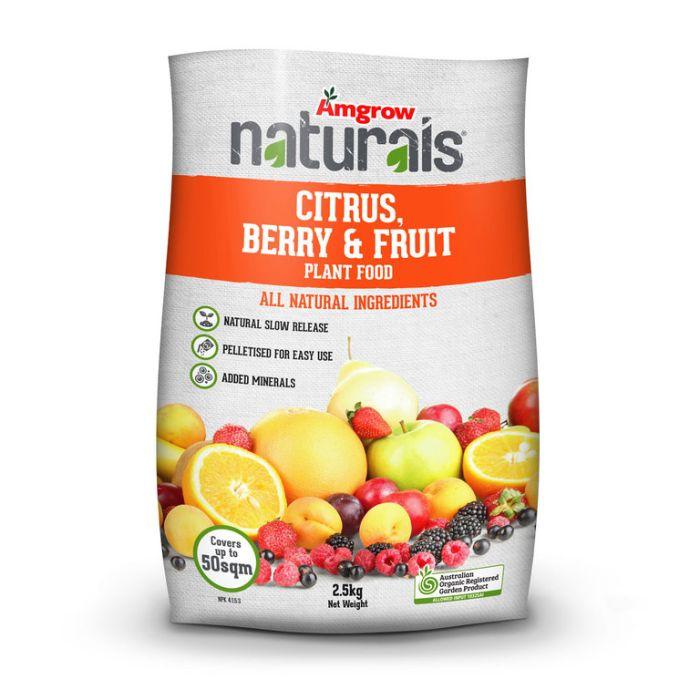 Amgrow Naturals Citrus Berry Fruit  ] 9310943602973 - Flower Power