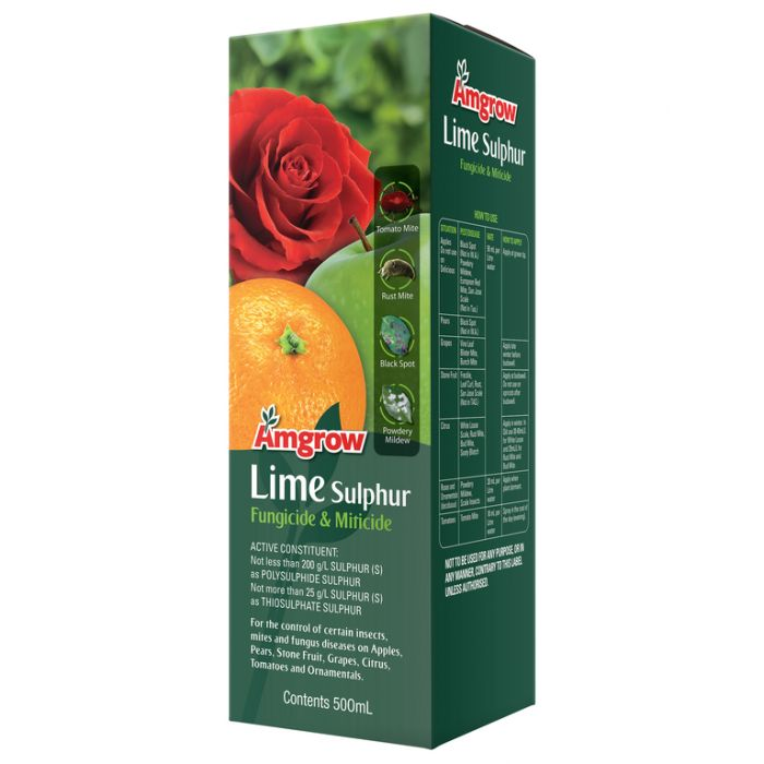 Amgrow Lime Sulphur Fungicide & Miticide  ] 9310943810354 - Flower Power