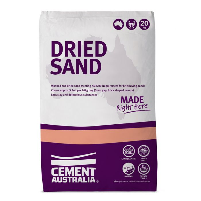 Dried Sand 20kg 17734  ] 9311808177346 - Flower Power