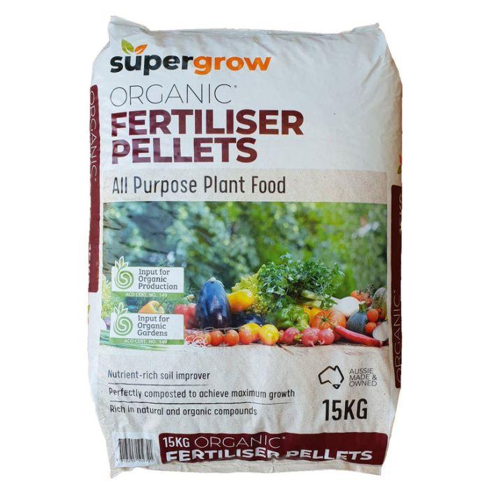 Supergrow Organic Fertiliser Pellets  ] 9312255102721 - Flower Power