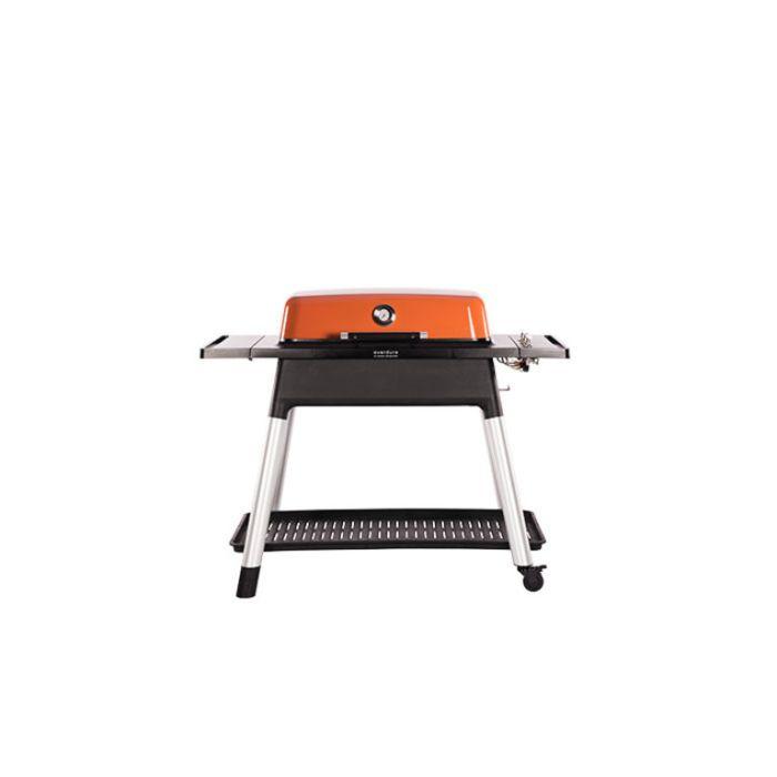 Everdure Furnace Gas BBQ + Stand Orange  ] 9312646023512 - Flower Power