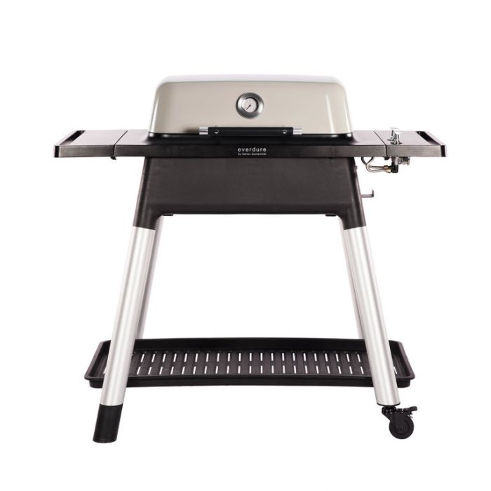 Everdure Force Gas BBQ + Stand Stone  ] 9312646023840 - Flower Power