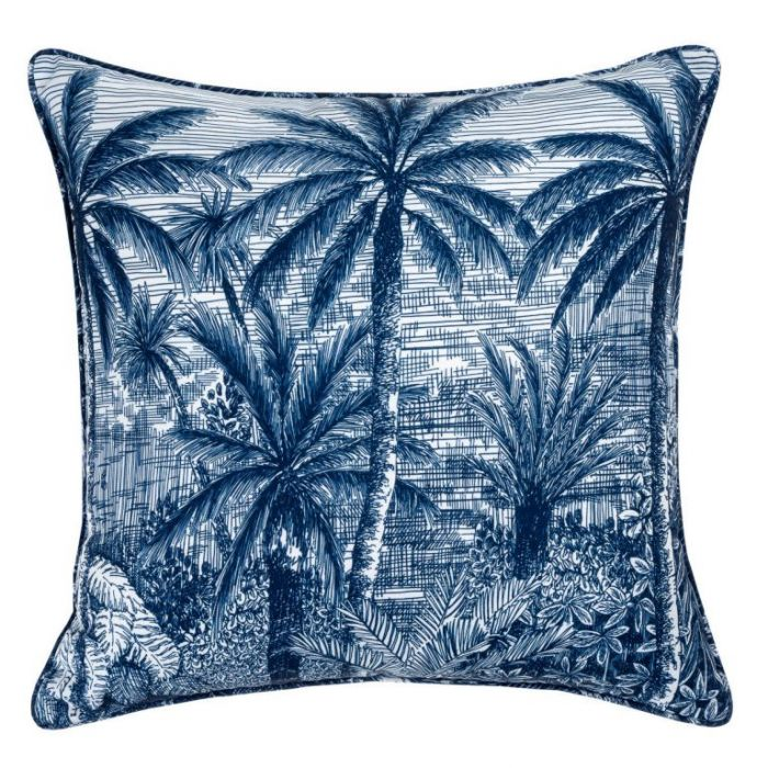Maison by Rapee Sol Navy Outdoor Cushion  ] 9312798191800 - Flower Power