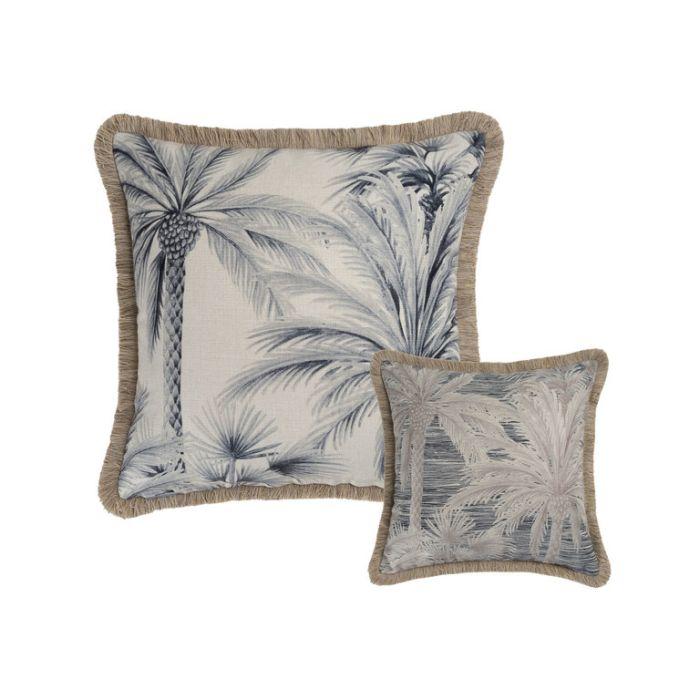 Maison by Rapee Banyan Black Outdoor Cushion  ] 9312798191954 - Flower Power
