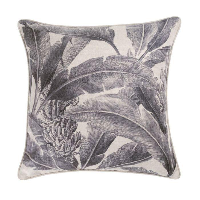 Maison by Rapee Tropicana Black Outdoor Cushion  ] 9312798192098 - Flower Power