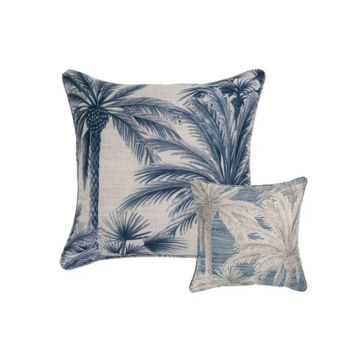 Maison by Rapee Chusan Navy Cushion  ] 9312798192517 - Flower Power